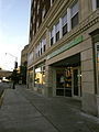 The historic former Karcher Hotel (now the Karcher Artspace Lofts) on Washington street..JPG