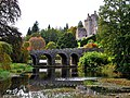 The lake, Drummond Castle Gardens - geograph.org.uk - 1564942.jpg
