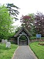 The lych gate at St Peter's - geograph.org.uk - 1281739.jpg