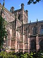 The south east angle of Chester cathedral - geograph.org.uk - 806851.jpg