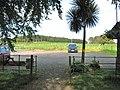 The visitors' car park at Galloway House - geograph.org.uk - 1563940.jpg