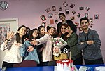 The wikipedians of Stepanakert WikiClub.jpg