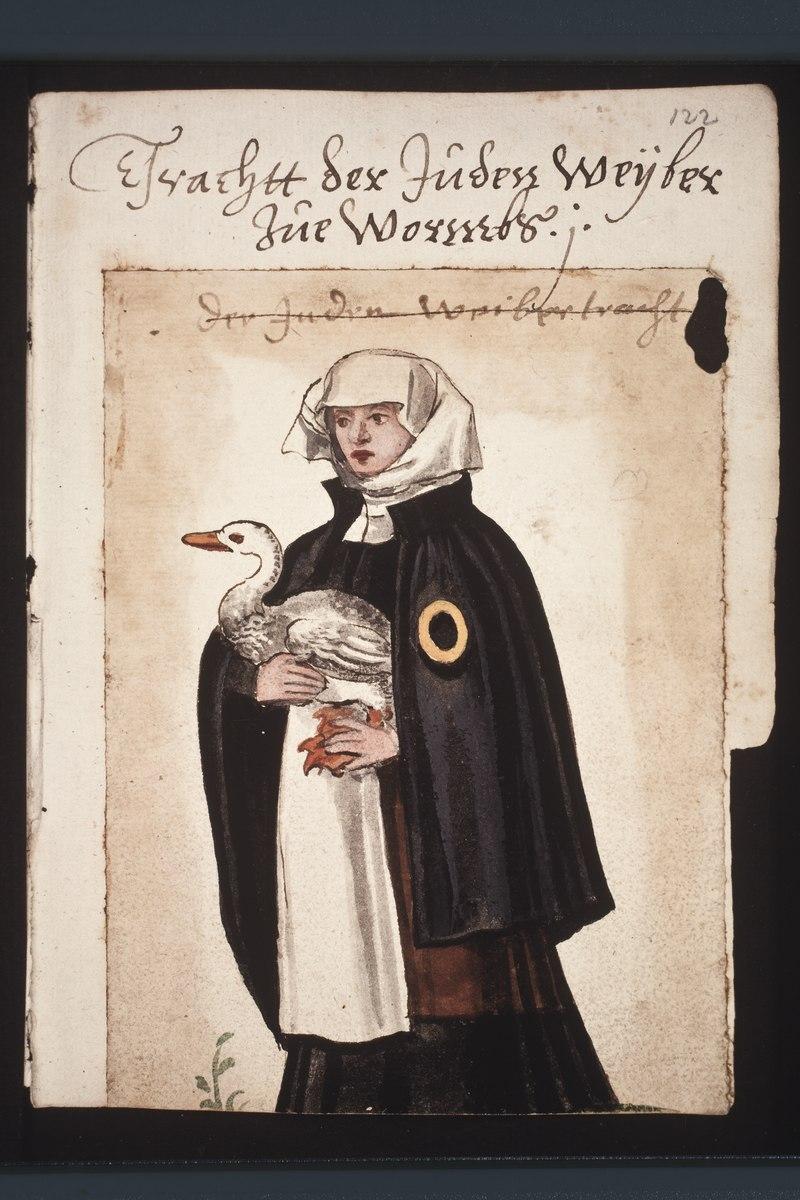 Jüdin aus Worms (um 1600)