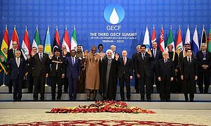 Third GECF summit - Leaders at the summit