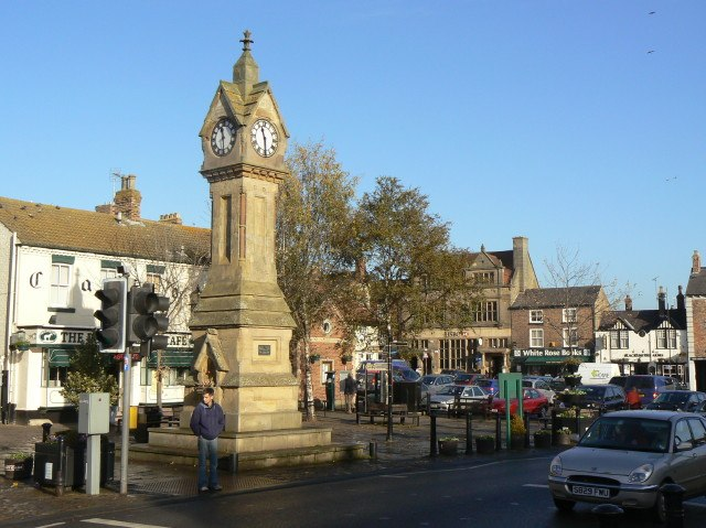 Thirsk, Market Clock - geograph.org.uk - 1586607