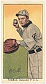 Thomas, Oakland Team, baseball card portrait LCCN2008677049.jpg