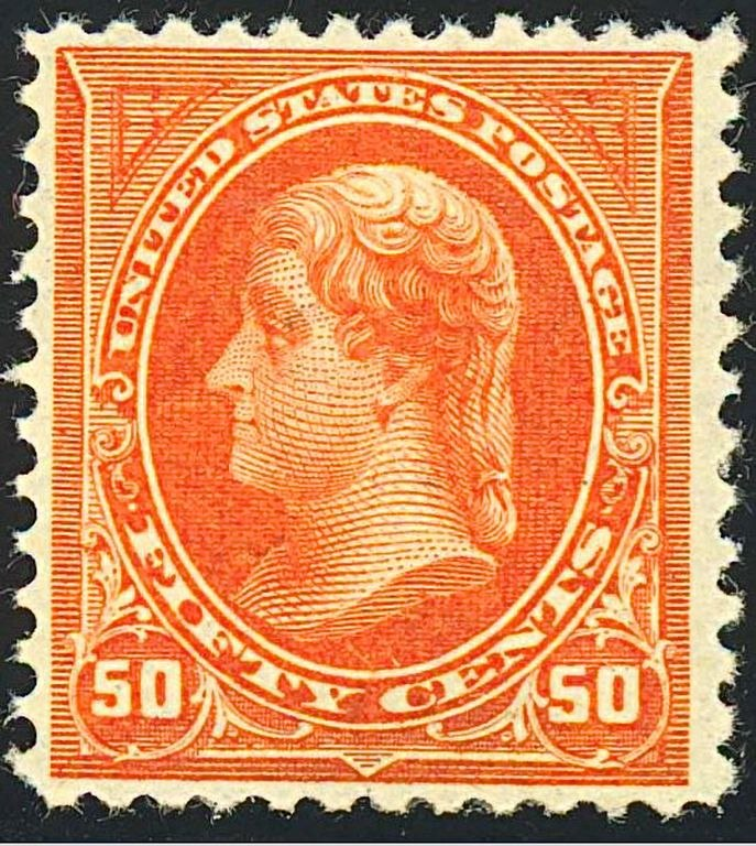 Thomas Jefferson 1894 Issue-50c