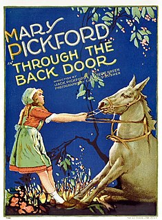 <i>Through the Back Door</i> 1921 film