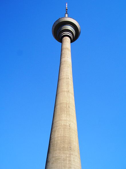 A view of the Tianjin TV Tower from its base Tianjin TV Tower.jpg