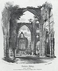Tintern Abbey, West Window