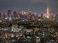 Tokyo Tower at Night - Yebisu Garden Place (41051988865).jpg