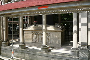 Français : le monument d'Héloïse et Abélard (7...