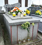 Tomb of Maria and Stanisław Janczura at Posada Cemetery in Sanok 1.jpg