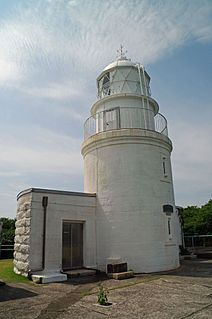 Tomogashima Lighthouse lighthouse in Japan