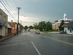 Downtown Tompkinsville, Kentucky
