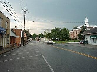Tompkinsville, Kentucky - Downtown Tompkinsville, Kentucky