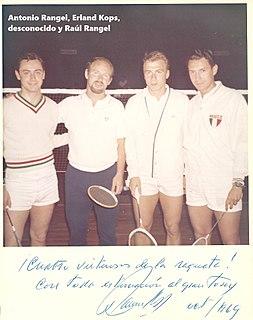 Antonio Rangel badminton player