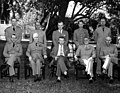 Top officials of the National Military Establishment meet with Forrestal.jpg
