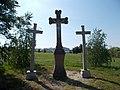 Torbágy New Calvary. Crucifixes.jpg