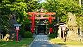 Torii of the Hiyoshi-jinja in Noshiro.jpg