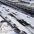 Toronto Union Station heated switches on east approach.JPG
