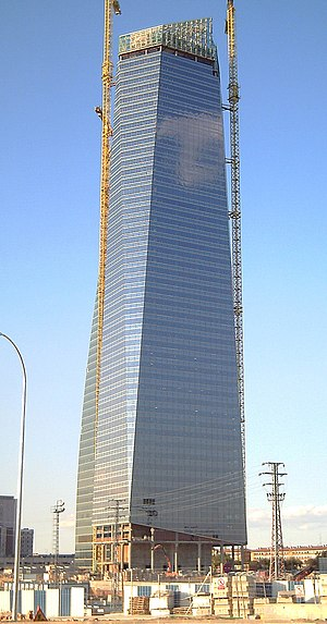 Torre de Cristal - Image: Torre de Cristal (Madrid) 04a