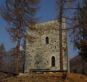 Chiuro - the medieval tower