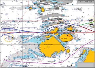 Torres Strait - Navigation Routes through Torres Strait