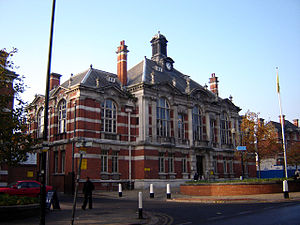 Municipal Borough of Tottenham - Image: Tottenham town hall 1