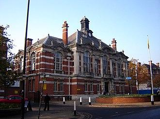 Municipal Borough of Tottenham - Image: Tottenham town hall 1