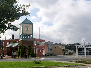 Regional Municipality of Tracadie - Downtown Tracadie