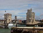 Tour de la Chaîne & Tour St Nicolas & Port of La Rochelle, France, pic-001.JPG