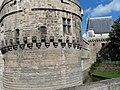 Tour du château des ducs de bretagne.JPG