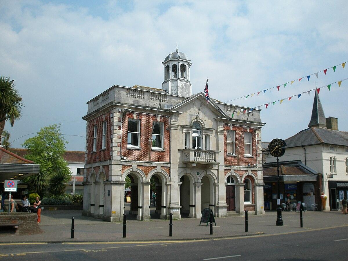 Town Hall Christchurch Dorset.JPG