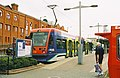 Tram at Wolverhampton St. Georges - geograph.org.uk - 848345.jpg