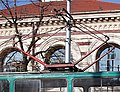 Tram in Sofia near Central mineral bath 2012 PD 082.jpg