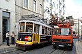 Trams Trolley Pole Trouble (3780461862).jpg