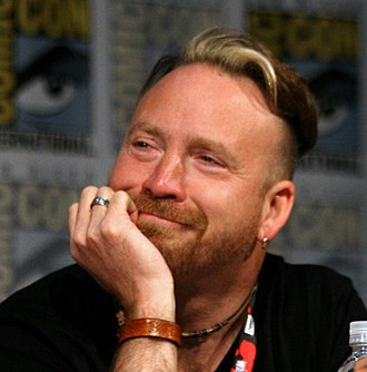 Trevor Devall - Devall at the 2016 San Diego Comic-Con