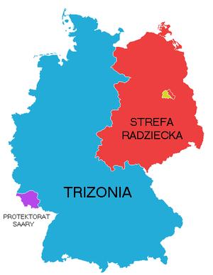 Bizone - Image: Trizonia