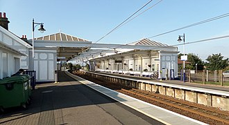 Troon railway station - Image: Troon Station, South Ayrshire