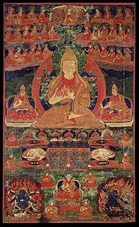 Gelug dominant sect of Tibetan Buddhism
