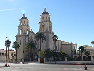 Cathedral of Saint Augustine (Tucson, Arizona) - Image: Tucson Cathédrale Saint Augustin 1