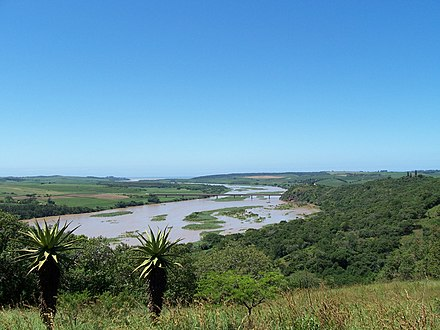 Tugela river mouth Tugela river mouth.jpg