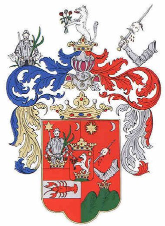 Heraldry - Coat of Arms of the Turiec county in Slovakia.