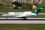 Turkmenistan British Aerospace BAe-125-1000B Zammit-1.jpg