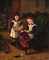 Two Children by Horace Petherwick Photo Credit Croydon Art Collection Licenced CC BY-NC Courtesy of Art UK org.jpg
