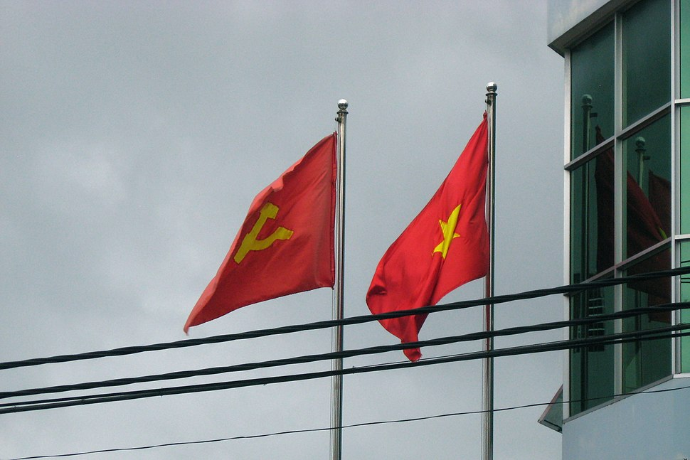 Two Flags Vietnam