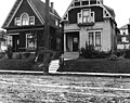 Two residences at 12th Ave between Cherry St and Spring St, Seattle, Washington, October 9, 1909 (LEE 36).jpeg