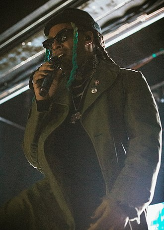 Ty Dolla Sign - Ty Dolla Sign performing in March 2018.