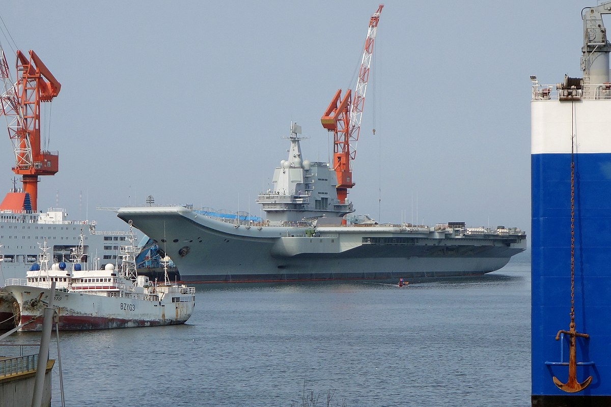 Type 002 aircraft carrier of People's Liberation Army Navy.jpg